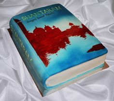 Book Launch Idea-- This is a cake... just do your own cover.