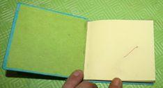 Creare libri per bambini – libro dei numeri con rilegatura giapponese e stelline – Lapappadolce