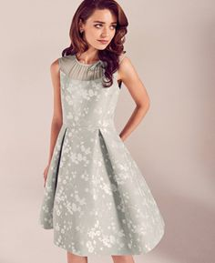 Dress idea for guests wedding #summerchique #WedWithTed @tedbaker