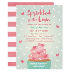 Baby Sprinkle Invitation Free Template  Shower    Baby