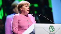 "Image copyright                  Getty Images                  Image caption                                      Mrs Merkel has been described as ""de facto leader of the European Union""                                By running for a fourth term as chancellor, Angela Merkel aims to emulate Germany's longest-running post-war leaders, Konrad Adenau"