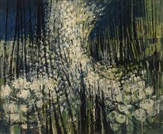 Doreen Roberts (1922-) - Wind in the Hedgerows, 1959