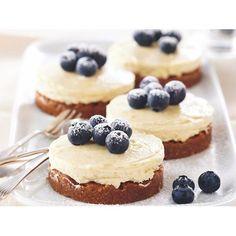 Lemon cheesecakes recipe - By recipes+