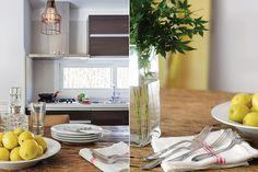 Una cocina con materiales nobles y toques masculinos  Las lámparas de filamento dimerizadas dan luz cálida muy tenue: el clima ideal para la cena.  /Daniel Karp