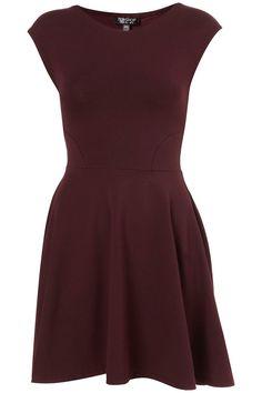 Sequin V Front Skater Dress - Going Out Dresses - Dresses - Clothing - Topshop USA