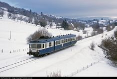 X 2825 SNCF X 2800 at Laqueuille, France by Fabrice Lanoue