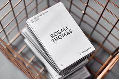 Selfmade Letterpress Visitenkarten Rosali Thomas http://www.rosalithomas.de