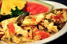 Egg White Chile Omelet   Here's a recipe to spice up your breakfast. Egg whites, fire-roasted green Chile and diced tomatoes create a tasty ...