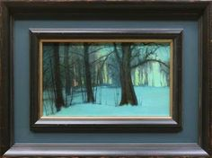 Transitions by Kevin Courter, oil painting 6x10