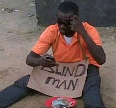 It's a MIRACLE!!!  Blackberry Cures Blind Man?