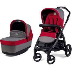 COMING SOON!! Peg Perego - Book Pop Up Stroller & Bassinet at West Coast Kids