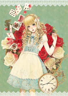 ImageFind images and videos about alice in wonderland on We Heart It - the app to get lost in what you love. Anime Disney, Disney Art, Illustrations, Illustration Art, Alice Liddell, Alice Madness, Anime Princess, Wow Art, Adventures In Wonderland