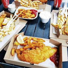 One of the best fish and chips in London.