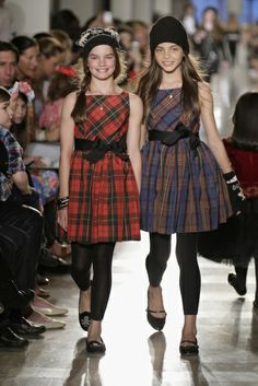 Mad for plaid. @Ralph Lauren  2014 Children's Runway Show  | MomTrends