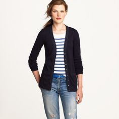 stripes and a Cardigan....my 2 favorite things <3