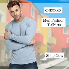 90554522b Chkokko - Cotton t-shirts for men. Flash sale is coming soon.