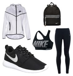 """""""'Nike' gym look"""" by amitafhelas on Polyvore featuring NIKE"""