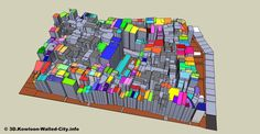 We are making 3D model of Kowloon Walled City.    #bibliography