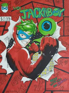 Jackieboy man comic book cover by tomato18 on DeviantArt