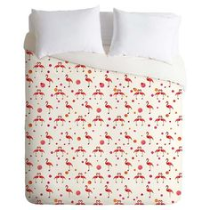 Target: DENY Designs Pink Flamingo Lightweight Duvet Cover (not serious, just makes me smile)