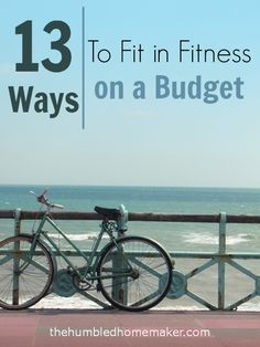 I used to use not having enough money as an excuse not to exercise. HA! I guess I can't use that one anymore! These tips on fitting in fitness on a budget are great!!