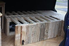 wooden interior build. - VW T4 Forum - VW T5 Forum (How To Build A Shed Out Of Pallets)