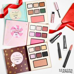 Holiday lattes are nice, but nothing beats limited-edition beauty sets. The reason? They're one-stop-shops for makeup that's merry and bright during any season. Create party-ready eye and cheek combinations with 3 scented palettes and a mascara mini from Too Faced, or let lips do the talking with curated favorites from Bite Beauty. So festive. So giftable. Click to shop #SephoraInJCP now!