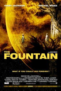 The Fountain The film consists of three story lines, one each from the past, present, and future, a modern-day scientist and his cancer-stricken wife, a conquistador and his queen, and a space traveler in the future who hallucinates his lost love.