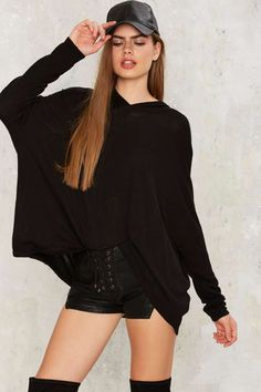 Far and Wide Hooded Sweater   Shop Clothes at Nasty Gal!