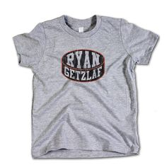 Ryan Getzlaf NHLPA Officially Licensed Anaheim Toddler Tee 2-12 Years Ryan Getzlaf Puck K