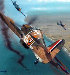 Aces of the Hurricane by Iain Wyllie (Hurricane Mk I, Battle of Britain)