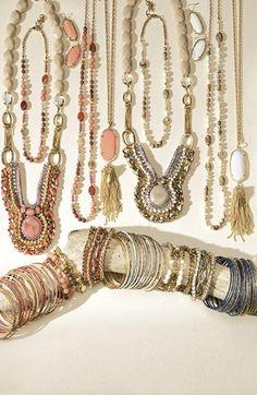 Kendra Scott 'Rayne' Stone Tassel Pendant Necklace available at #Nordstrom