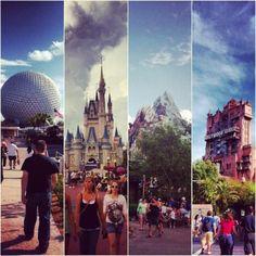 4 parks, 1 disney world! Disney Stuff, Disney Love, Disney Magic, Disney World Theme Parks, Walt Disney World, Blizzard Beach, Annual Pass, Downtown Disney, Disney Scrapbook