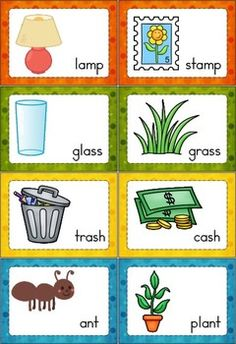 Rhyme Time - Set 1: 108 cards that focus on short vowels in a primarily CVC pattern (also includes some letter blends and digraphs). Comes with a response sheet. Great word work activity for children in kindergarten and first grade.