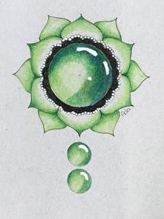 Gem Drawing, Mandala Drawing, Botanical Line Drawing, Sacred Geometry Art, Tangle Art, Zen Art, Color Pencil Art, Diy Canvas Art, Art Sketchbook