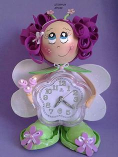Relógio Clock, Clock Craft, Floral Bags, Bunny Rabbit, Molde, Feltro, Mothers, Decorated Boxes, Jelly Beans