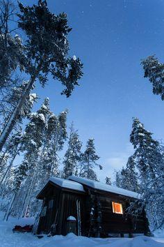 Kaamosvaelluksella Itäkairassa:  #Lappi  #Talvi  #Retkeily  #Luonto - Teemu Saloriutta