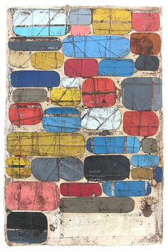 """Charmed As Usual"" www.scottbergey.com # mixed media collage"