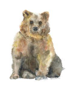Watercolor Paintings of Animals | Animal Watercolor Paintings by Susan Windsor