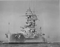 14 in Nevada class battleship USS Oklahoma, the other total loss during the Pearl Harbor attack on 7 December 1941 (see Arizona picture nearby).