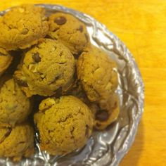 Vegan Chocolate Chip Walnut Cookies from Cooking Con Sal