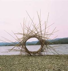 Sculptor Andy Goldsworthy