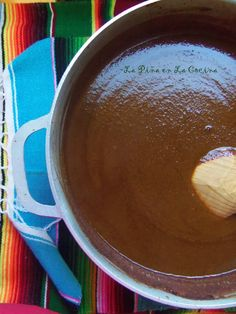 Oaxacan-Style Mole (Mo-Leh) Sauce - La Piña en la Cocina Mexican Cooking, Mexican Food Recipes, Mexican Mole Sauce, Sauce Recipes, Cooking Recipes, Tasty, Yummy Food, Healthy Food, Comida Latina