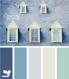 Possible color combination for the master bedroom.