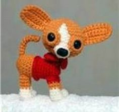amigurumi chihuaha free pattern | DIY Amigurumi Chihuahua - FREE Crochet Pattern / Tutorial