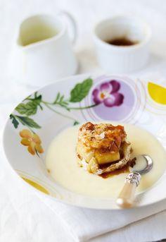 Receta 1009: Mousse de manzanas con natillas » 1080 Fotos de cocina