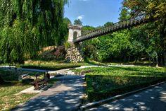The Nicolae Romanescu Park in Craiova, Romania, is the third biggest natural park of Europe. Amazing Pics, Beautiful Pictures, Natural Park, Bucharest, Tower Bridge, Garden Bridge, Around The Worlds, Europe, Romania