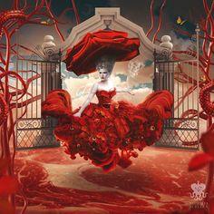Corpse Bloom Queen on Behance  Nathalia Suellen ( Río de Janeiro, Brasil )  Ilustración / Arte Digital / Fotografía 3D / Pintura Digital
