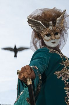 Masque et costume de Venise