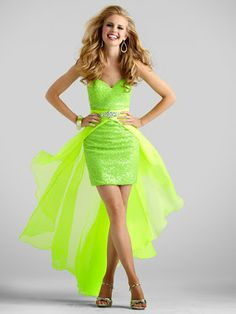Dazzling Sequin And Chiffon Fitted Prom Dresses Mini Sequined Skirt Flowing Chiffon Removable Overlay Open Back Formal Party Gowns Short Fitted Prom Dresses, Red Homecoming Dresses, Pink Prom Dresses, Dresses For Teens, Pretty Dresses, Strapless Dress Formal, Evening Dresses, Short Dresses, Formal Dresses
